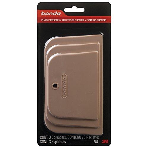 3M 357 Bondo Spreader, 3 Pack