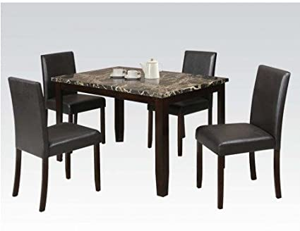 Siomar 5 PCs Dining Table Set by Acme Furniture