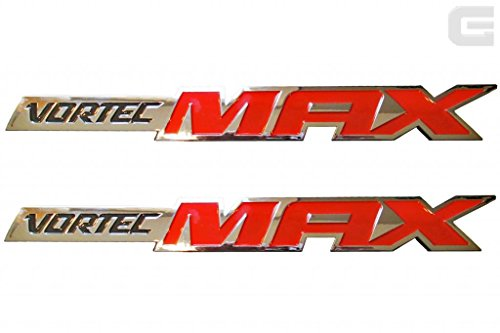 Pair of 06-10 OEM New Chevy Silverado Vortec MAX High Output Emblems (Chevy Emblems compare prices)