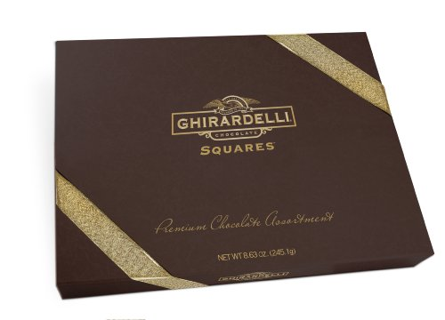 Ghirardelli Chocolate Squares, Ultimate Collection, 8.63-Ounce Gift Boxes (Pack of 2)