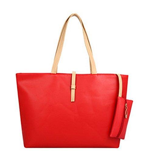 las-mujeres-de-piel-bolso-de-bolso-de-mano-con-monedero-rojo-red
