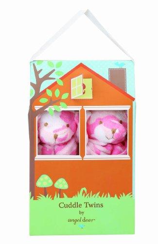 Angel Dear Cuddle Twin Set, Pink Camo Puppy