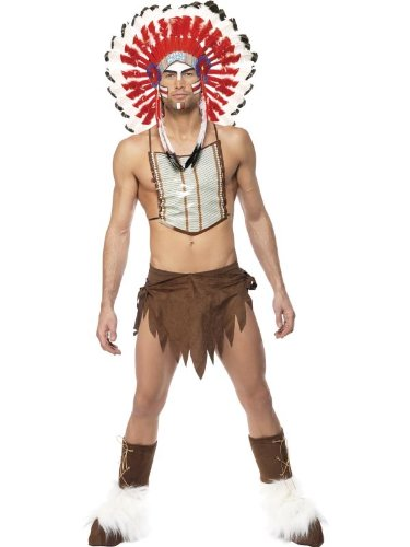 Village People Indian Costume Adult One Size Fits Most