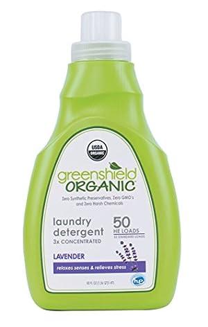 Greenshield Organic, Usda Organic Lavender Liquid Laundry Detergent