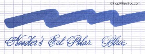 Noodler'avec de l'encre en bouteille recharge d'encre Bleu polaire