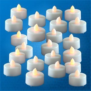 Lily's HomeTM 48 Flickering Candle Set Flickers