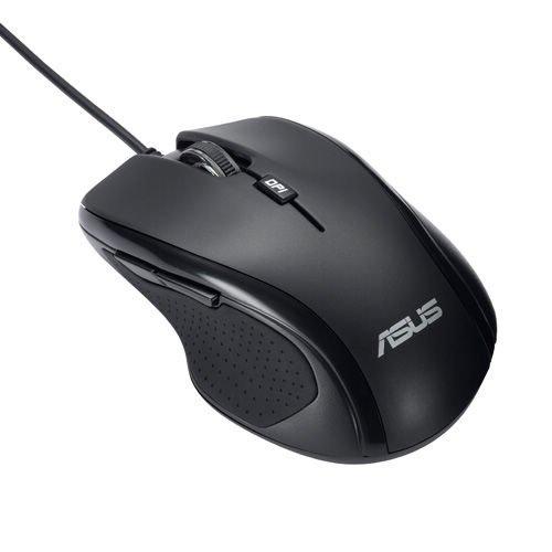Asus UX300 Mouse ottico, con filo, Nero