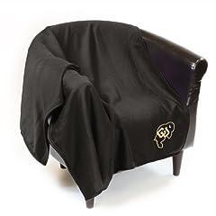 Colorado Buffaloes Official Sweatshirt Throw by Logo Chair Inc. by Logo Chair Inc.