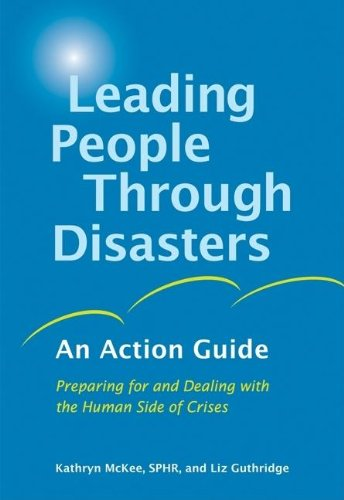 Cover:  Leading People Through Disasters: An Action Guide