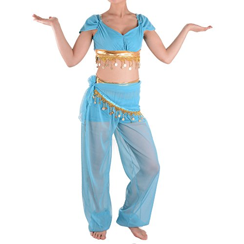 Sexy Princess Jasmine Costume Adults Aladdin's Cosplay Halloween Belly Dance