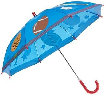 Stephen Joseph Little Boys' Sports Rain Umbrella, Royal Blue, One Size