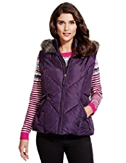 Per Una Padded Gilet with Stormwear™
