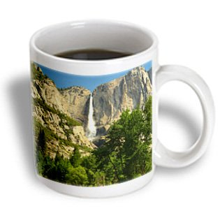 Danita Delimont - Michel Hersen - Waterfalls - Upper Yosemite Falls, Merced River, Yosemite Np, California, Usa - 15Oz Mug (Mug_191680_2)