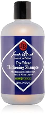 Jack Black True Volume Thickening Shampoo 354 ml