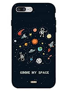 iPhone 7 Case - Gimme My Space - Need Space - Designer Printed Hard Shell Case
