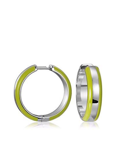 Esprit Steel Pendientes Marin grün