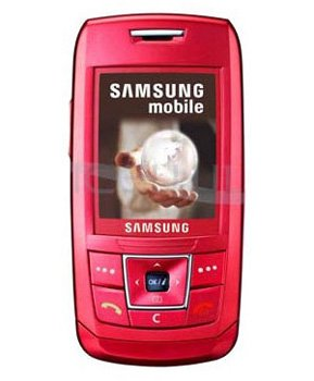 Samsung E250 PINK Mobile Phone **Unlocked**Video Camera**Vodafone Box