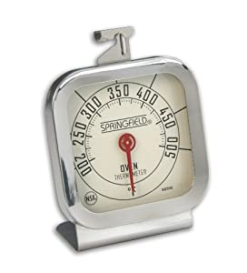 Cook Rite Oven Thermometer, Stainless Steel by Taylor