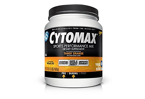 Cytomax Tangy Orange Sports Performance Mix Canister - 1.5Lbs - Tangy Orange, 1.5Lbs
