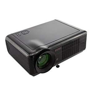 LCD HD TV Projector 2000 LUMENS 1080i HDMI Home Theater