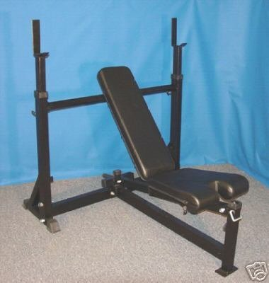 Hs Psfid Heavy Duty Olympic Flat Incline Decline Bench Press Find Best Cheap Benches