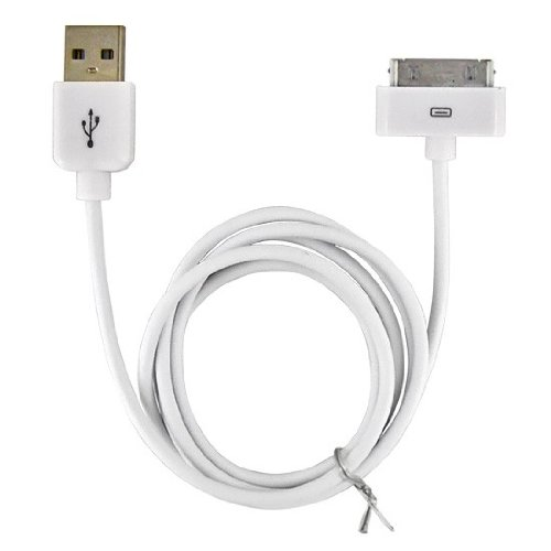 USB Data Cable for Apple iPhone 3G, 3GS/ iPhone 4, iPhone 4 Verizon/ iPad 2