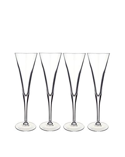 Villeroy & Boch Set of 4 Purismo 6-Oz. Champagne Flutes