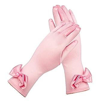 268908c0a 3-6 Year Old Princess Crown + Magic Wand + Bow Gloves Pink set Dress ...