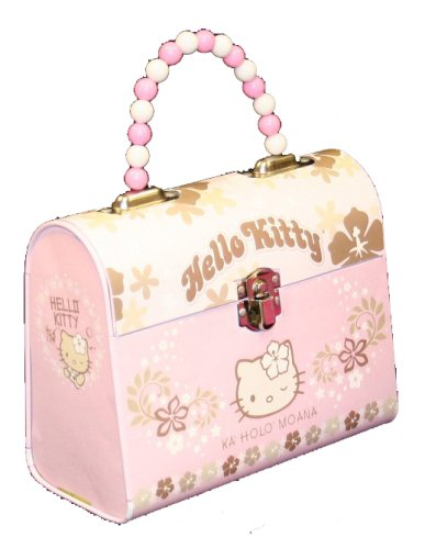 Hello Kitty Tin Handbag w/Beaded Handle – Hawaii