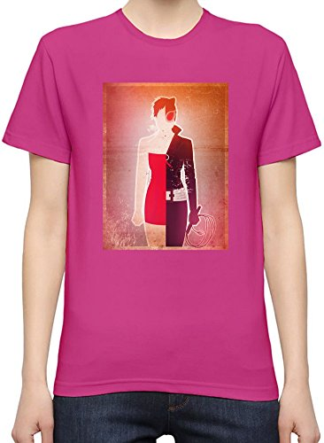 Supergirl Illustration T-Shirt per Donne XX-Large