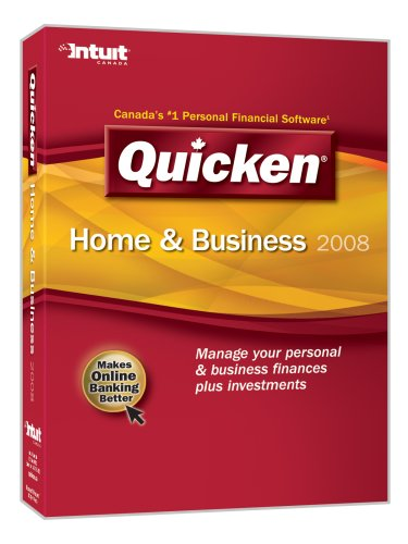 Quicken Home & Business 2008 [OLD VERSION]