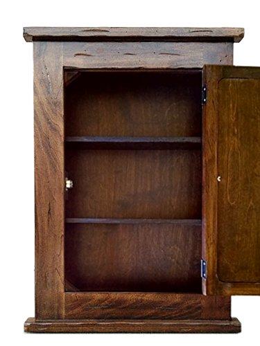 Primitive Mission Recessed Medicine Cabinet/Rustic / Solid Wood & handmade