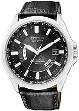 Comprar Citizen CB0010-02E - Reloj analógico de cuarzo para hombre, correa de cuero color negro