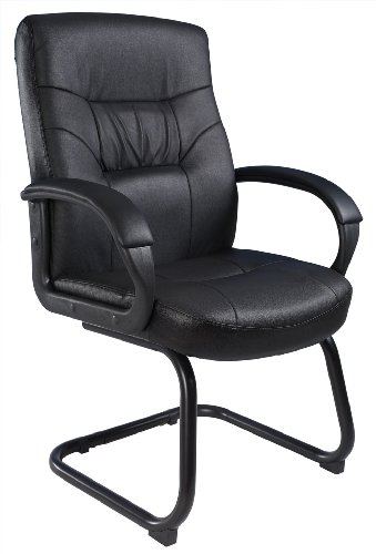 boss-office-products-b7519-executive-mid-back-leatherplus-guest-chair-with-cantilver-sled-base-in-bl