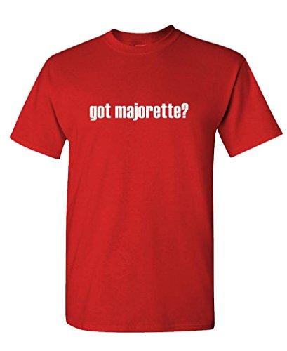 GOT MAJORETTE? - Mens Cotton T-Shirt, M, Red