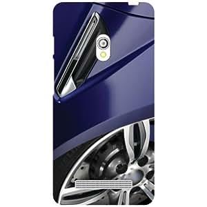 Asus Zenfone 5 A501CG Back Cover - Wheels Designer Cases