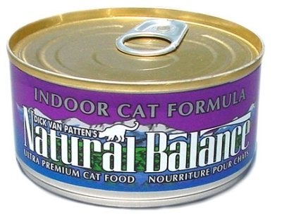 Natural Balance Pet Foods - Indoor Formula Cat Can 24/6Oz Case **Formerly Hairball
