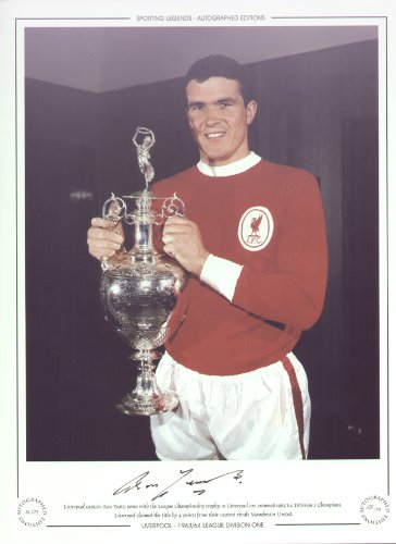 Liverpool League Champions 1964 – Ron Yeats Signed Limited Ed