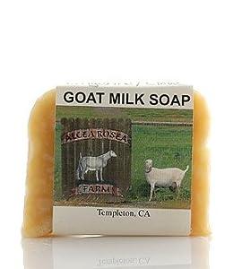 Goat Milk Soap Bar Tangerine and Clove 1 pc by Alcea Rosea Farm