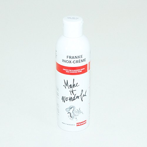 Franke Inox-Creme, Cream for Cleaning Sinks and Cooking Hobs, 90% Biodegradable, 250 Grams (1) (Franke Stainless Steel Cleaner compare prices)