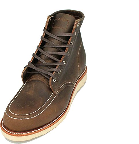Chippewa 1901M23 Moe Toe Wedge uomo in pelle stivaletti con suola Vibram V-Bar in sughero, (Crazy Horse), 44 EU / 11 US