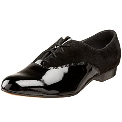 Tic-Tac-Toes Men's Ritz Ballerina Tuxedo Shoe,Black,8 M US