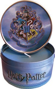 Harry Potter Scented Candle in Round Hogwarts Tin