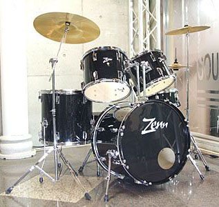ZENN ドラムセット ZDS3000II BLACK(ブラック)
