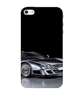 EPICCASE Mercedes-Benz CLK GTR hypercar Mobile Back Case Cover For Apple iPhone 4/4s (Designer Case)