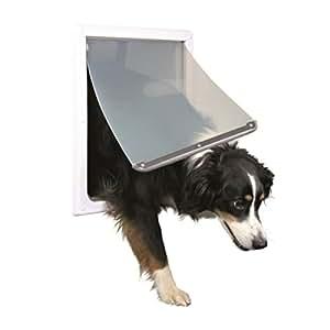 Trixie Pet Products 2-Way Locking Dog Door,