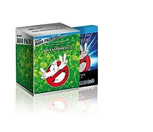 """SOS fantômes 1 & 2 [Ultimate Hero Pack - Blu-ray + Boîtier SteelBook + Figurine résine """"Slimer & logo Ghostbuster""""]"""