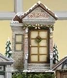 Bristol Falls Victorian Village Toy Shop Christmas Door Display