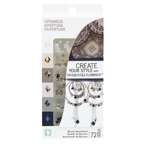 CREATE YOUR STYLE with SWAROVSKI ELEMENTS Openness Crystal Assortment