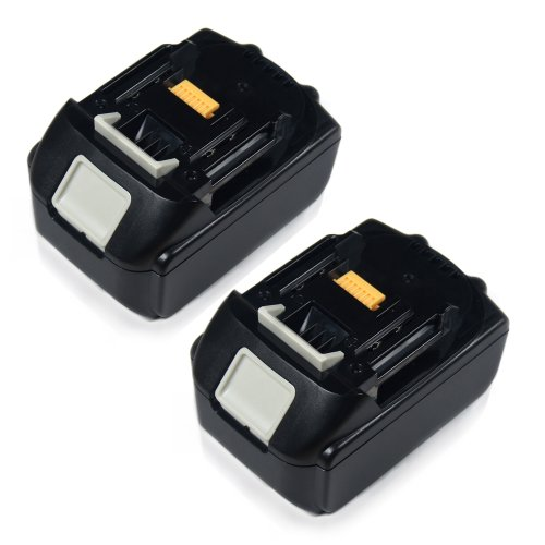 2-Pack 4500Mah Replacement Power Tool Battery For Makita 194205-3, Bl1815, Bl1830, Lxt400 Etc front-553314